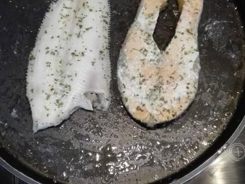 Pescado al microondas receta de manuel s nchez cookpad - Lenguado al microondas ...