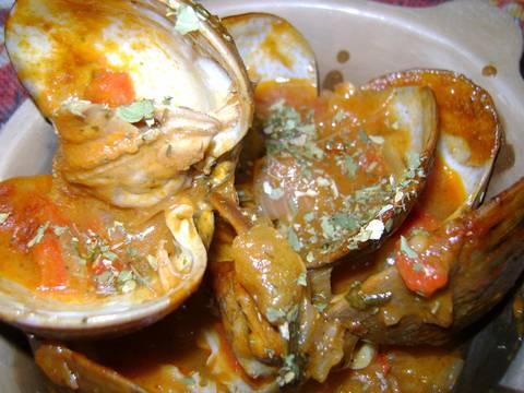 Mejillones en cazuela con salsa receta de la profe luisa for Cocinar mejillones en salsa