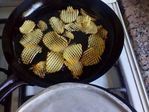 Bif s a la criolla con papas rejilla receta de gringa for Cocinar a 90 grados