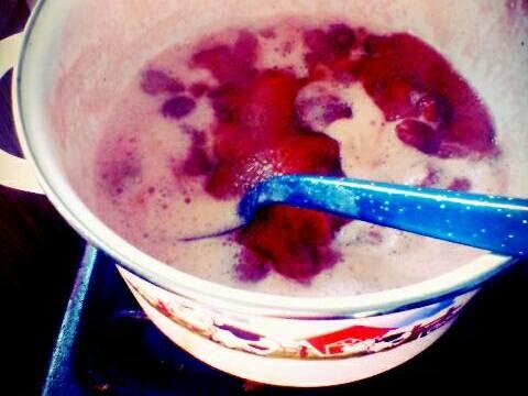 Mermelada de fresa casera(muy fácil de hacer) Receta de Gaby