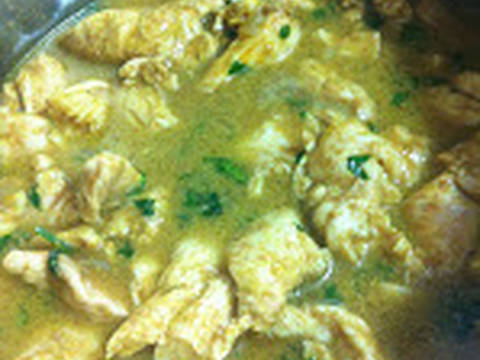 Cocine la pechuga de pollo arriba o abajo