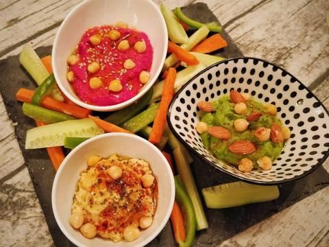 Foto del paso 7 de la receta Trilogía de hummus