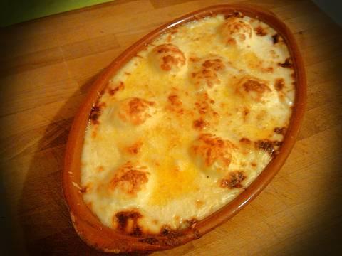 Gratinado de patatas con bacalao y huevos duros receta de - Gratinado de patata ...