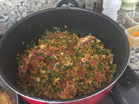 Tagine de cordero en salsa receta de hindmoussaoui7 cookpad for Cocinar cabeza de cordero