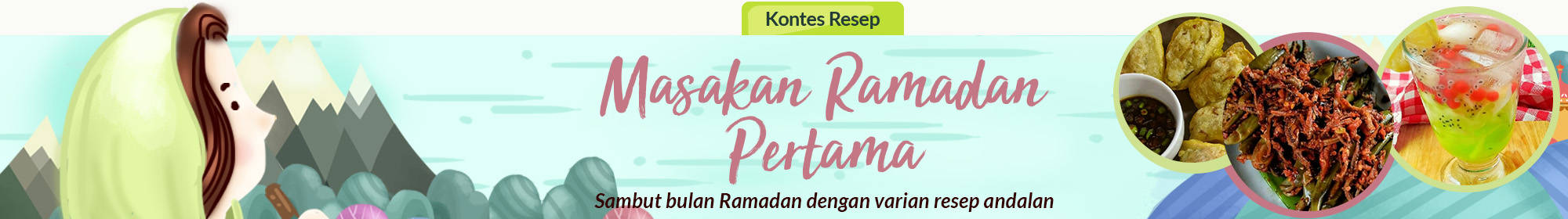 Masakan Ramadan Pertama
