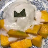 Creamy Mango Sticky Rice