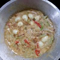 Sambel goreng manisah (labu siam)
