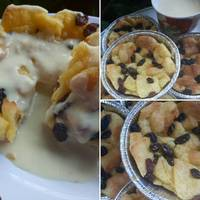 Bread pudding with vanilla sauce (recook resep Tintin Rayner)
