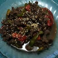Beef teriyaki ala hokben by umi nara
