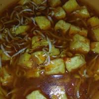 Sundubu Jjigae (sup tahu pedas) ala korea