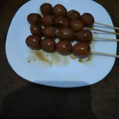 Foto Recook dari Sate Telur Puyuh
