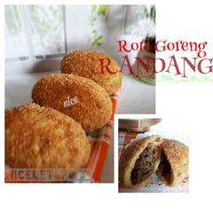Foto Recook dari Roti Jumbo Isi Daging Ayam
