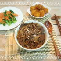 Gyudon Beef Bowl ala Yoshinoya mudah banget