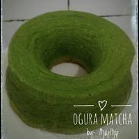 Resep Ogura Cake Green Tea Selembut Kapas oleh Tintin ...