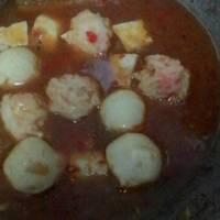 Tom Yum Seafood Ball (baso seafood) #pr_recookmasakanberkuah