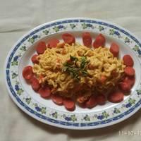 Spaghetti Salted Egg