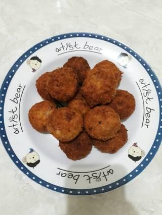 Foto masakan dari Nugget tempe