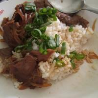 Beef bowl (Gyudon) halal