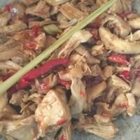 Ayam Suwir Bumbu Bali Simpel