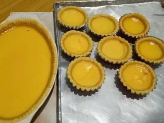 Foto masakan dari Egg tart (kue lontar)