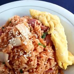 Foto Recook dari Kimchi Bokkeumbap ( Nasi Goreng Kimchi )