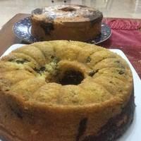 Marble Cake (pasta pandan)