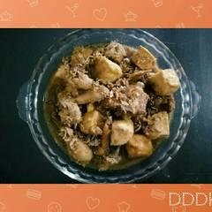 Foto Recook dari Semur Ayam Tahu Simple