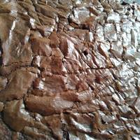 CHEWY BROWNIES + tips sukses shiny crust