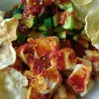 Cucumber Beansprout Salad - Reuceuh