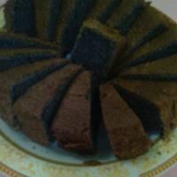 Chiffon Cake Ketan Hitam Irit Bahan