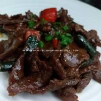 Beef Teriyaki / Daging Teriyaki