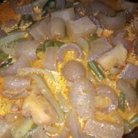 Sambal Goreng Labu siam + kacang panjang + krecek gak pedes