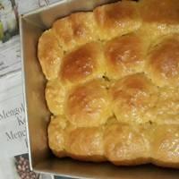 Roti manis sangat lembut(tanpa isi)