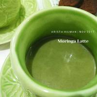 Nokcha Ladde ( Green Tea Latte )