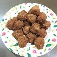 Bakso Goreng Babi 👌(Non Halal) special for hubby ❤️