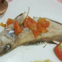 Kerapu steam fish