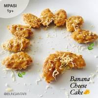 Banana Cheese Cake #MPASI 1y+