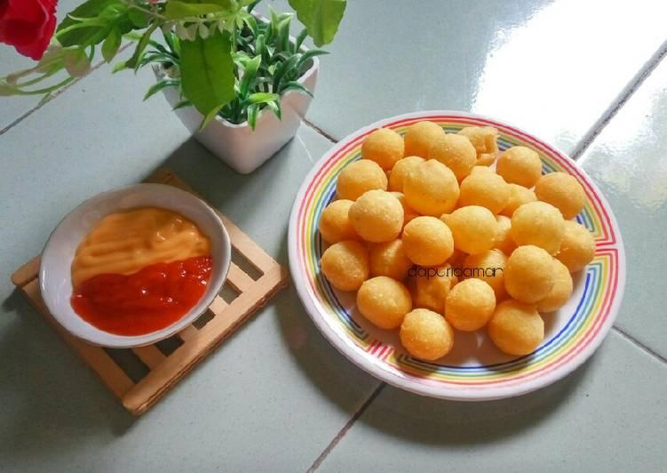 Cheese Potato Ball