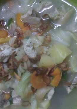 Sup Ayam & Sayuran