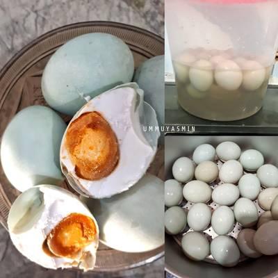 Telur Asin/Telor Asin Masir/Homemade Salted Eggs