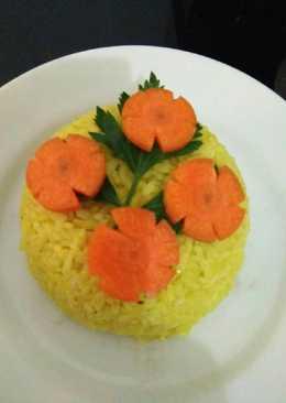 Nasi kuning (Rice cooker)simpel gurih nagih...nampol