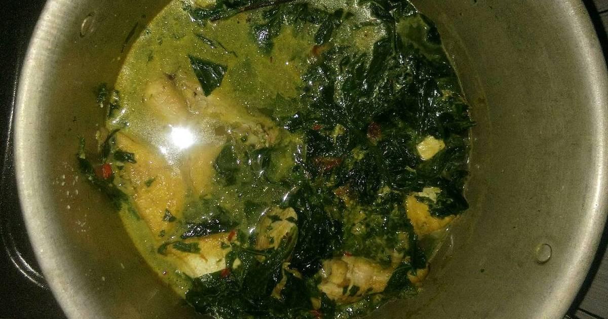 Resep Sayur gulai daun pepaya oleh nienha - Cookpad