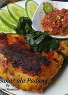 Ayam Bakar ala(ala) Padang