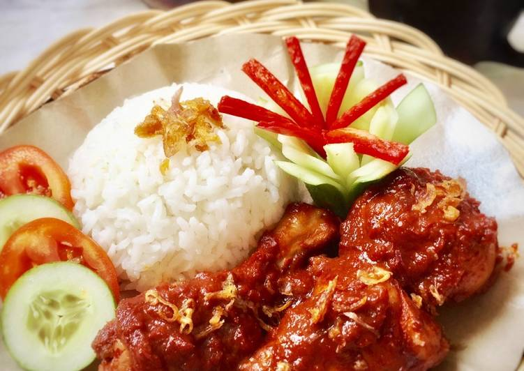 Resep Ayam Masak Merah - masakan mama mudah