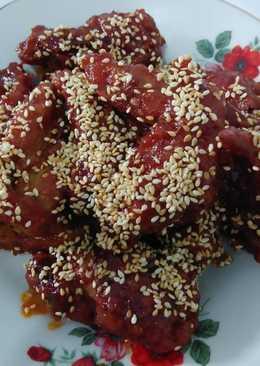 Korean Fried Chicken ala Richeese Factory