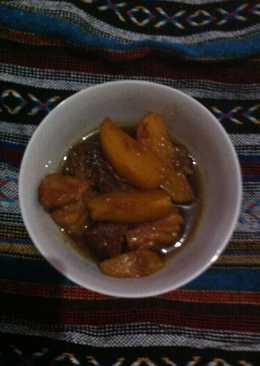 Semur daging, sandung lamur dan kentang