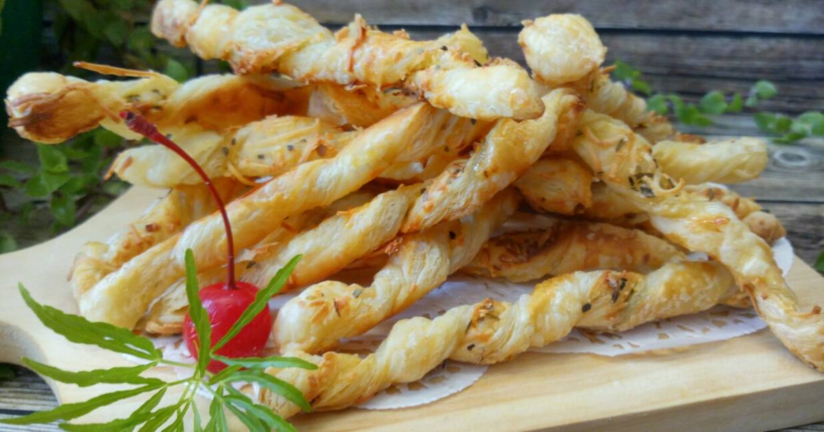 Resep Cheese Stick Puff