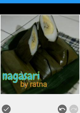 Nagasari pisang kepok