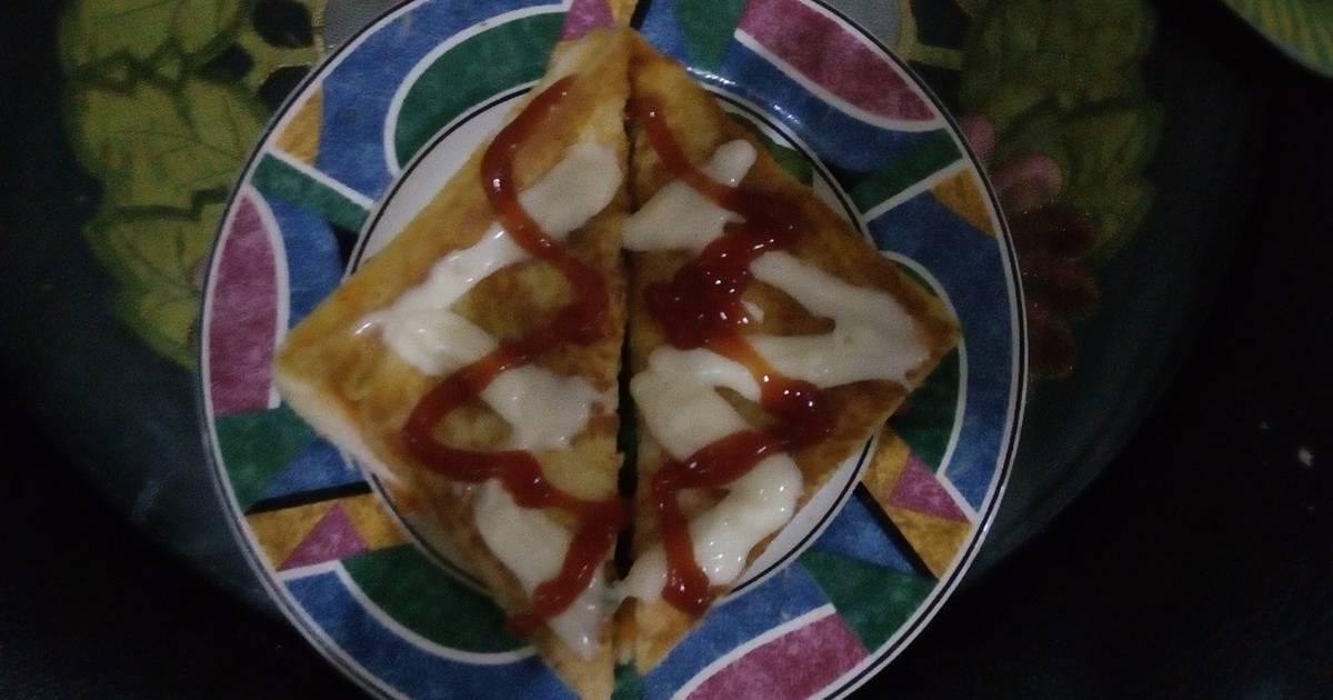 56 resep roti panggang sosis keju enak dan sederhana   cookpad