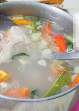 Sup ikan kakap merah